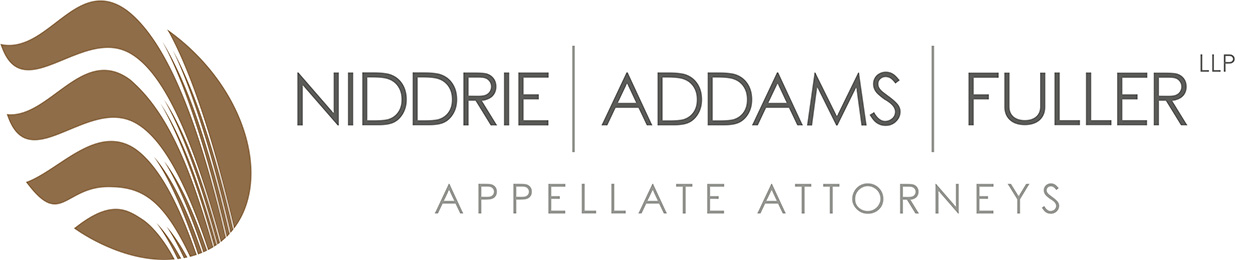 Niddrie Addams LLP - Appellate Attorneys